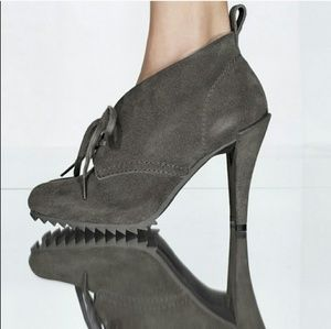 Pedro Garcia Yasu suede lace up booties